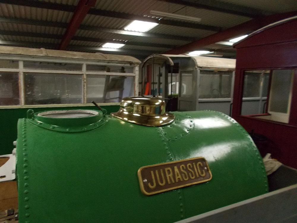 A Brass Dome For A Locomotive