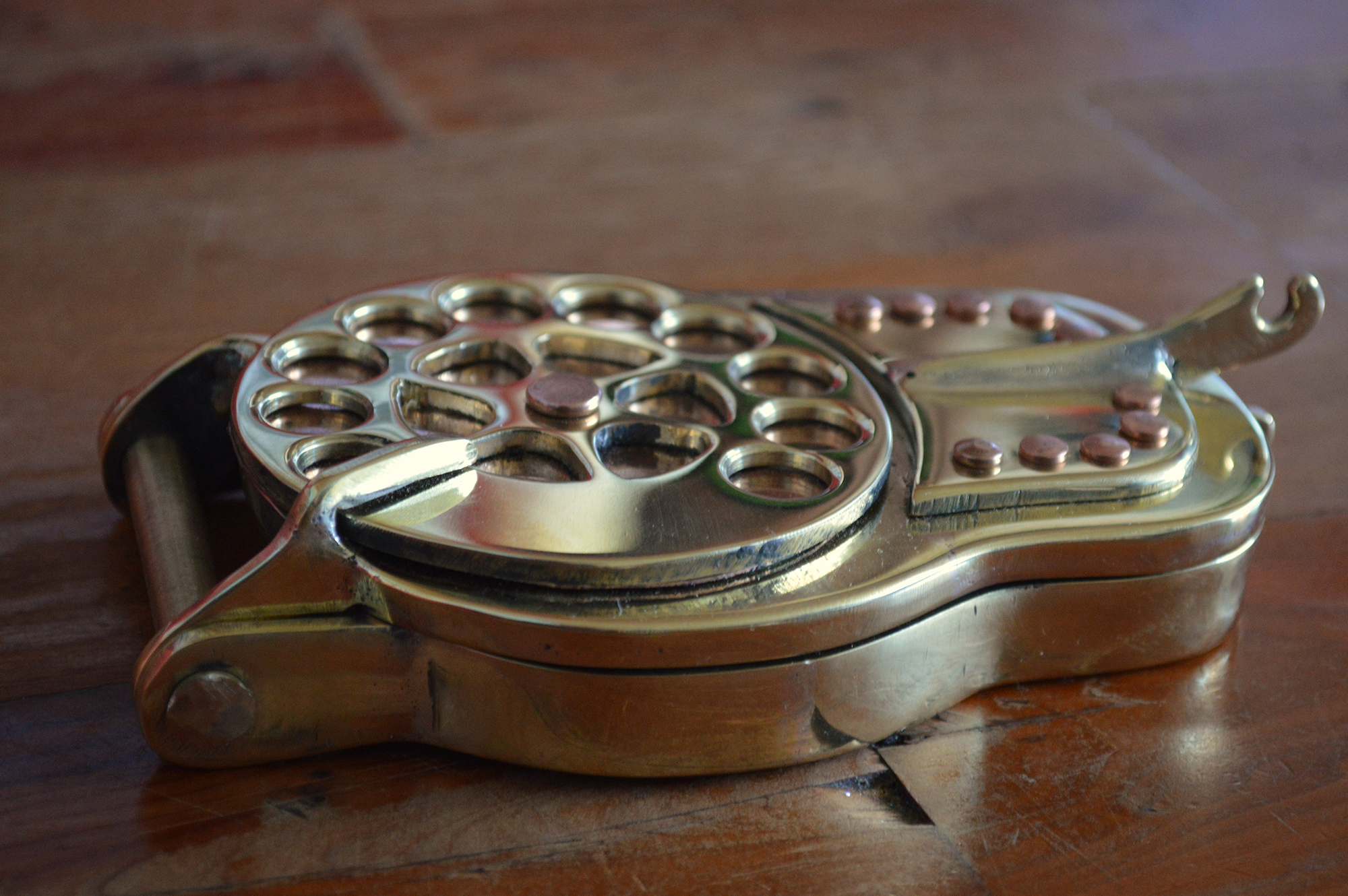 steampunk-phone-case by the dorset copperfish